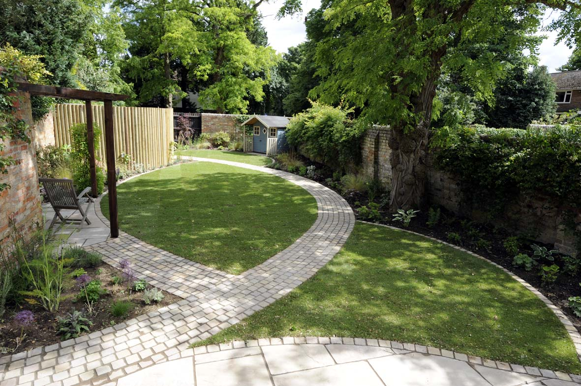 Landscape gardening experts home and garden service for Home garden layout